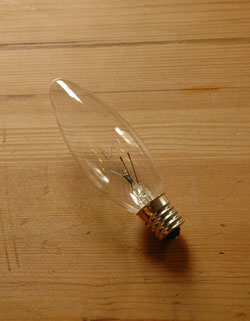 wr-024-o Handleオリジナル壁付けブラケットの電球