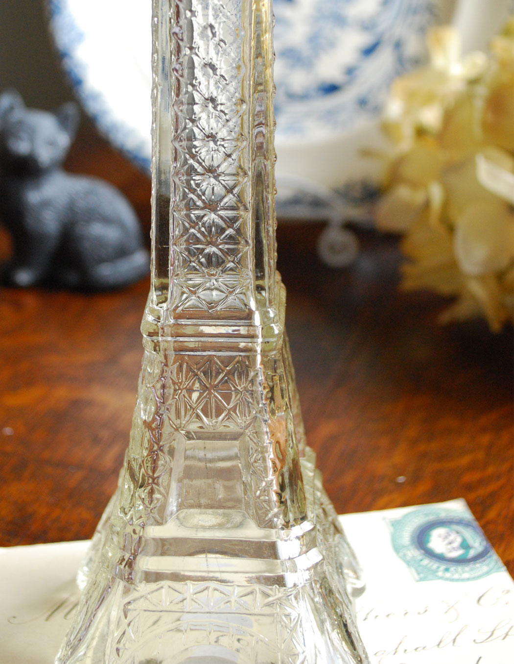 n14-003 エッフェル塔ガラスボトル