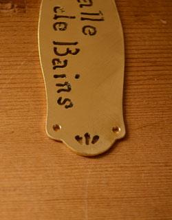 sa-049-gバスルームプレート
