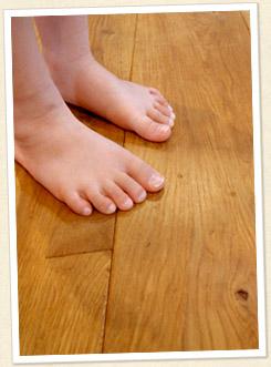 Handleの床材について